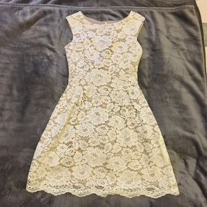 NWOT Lace Sleeveless Dress (with pockets!)